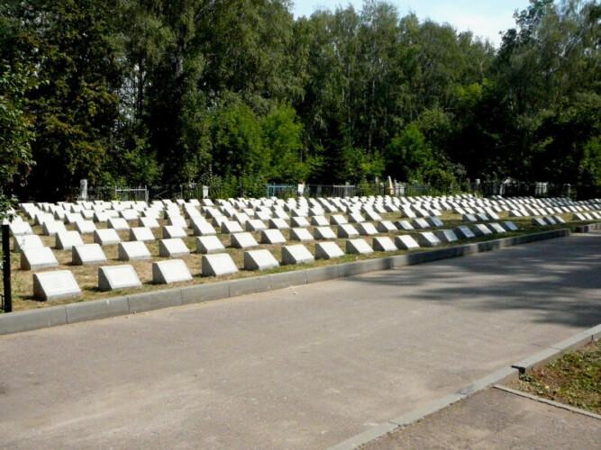 КАзань Архангельское кладбище