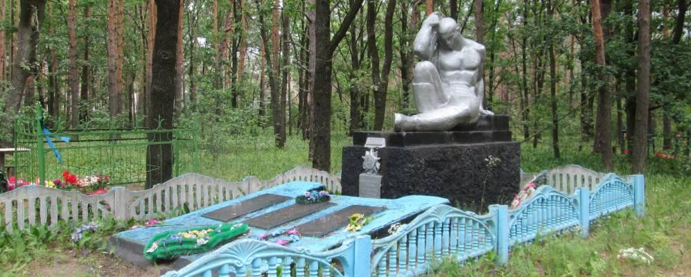 Захоронение в д. Луки КАлинковичского р на ГОмельской области