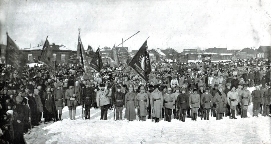 Демонстрацция 5 лет ревоолюции 1923 г