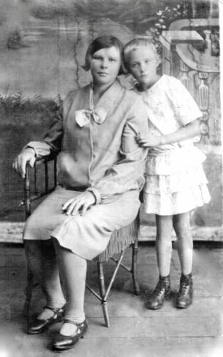 Мать и дочь Гершпигель Вацке