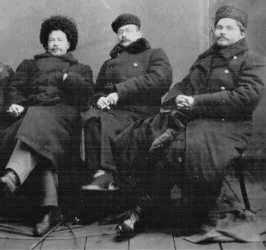 Приказчики Щелкунова, актеры этапного театра